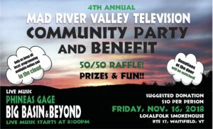 Mad River Valley TV Fundraiser