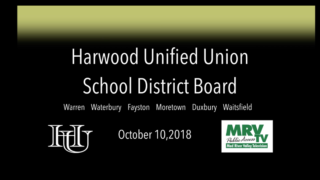 Harwood Unified Union School Board